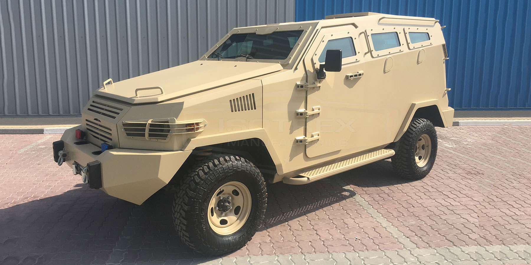 Armored Isotrex Specter APC