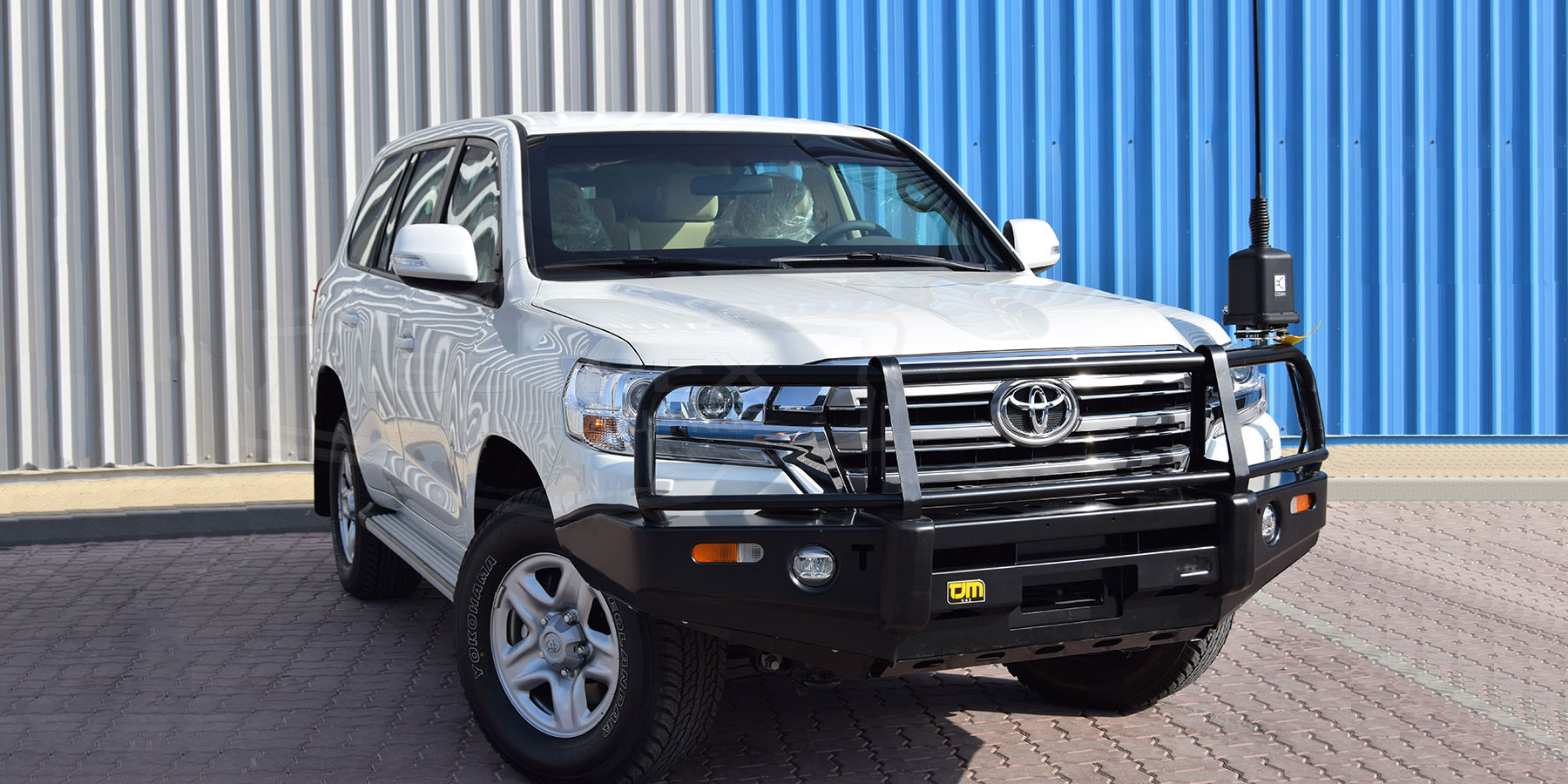 Armored Toyota Land Cruiser 200