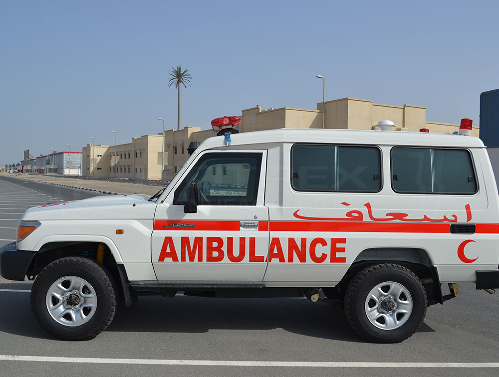 Armored TLC 78 Ambulance by Isotrex Manufacturing