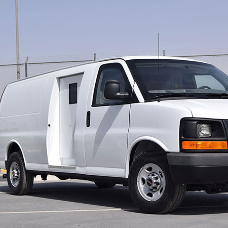Armored GMC Savana
