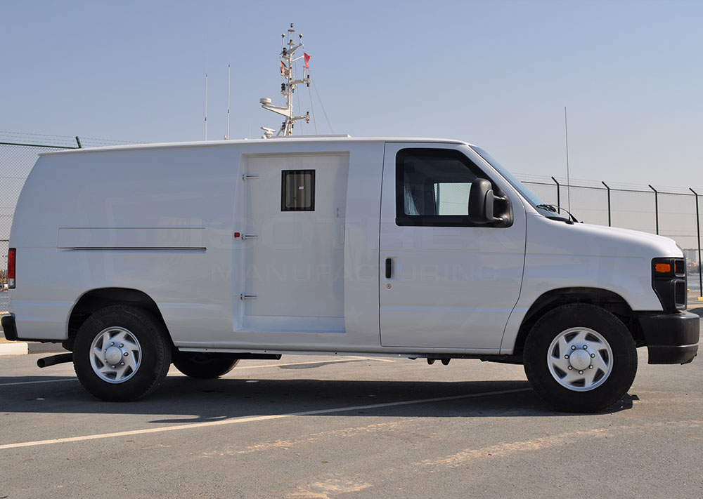 Armored Ford E 250 Van Cash In Transit Vehicles