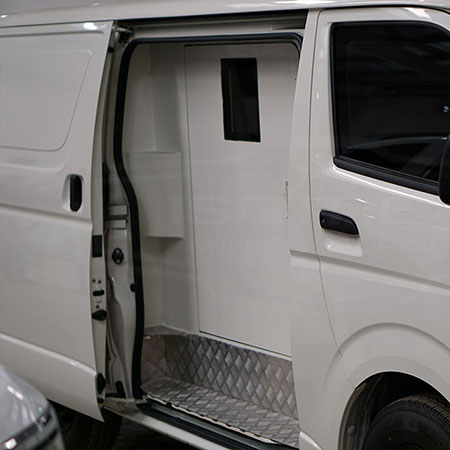 Armored Toyota Hiace CIT
