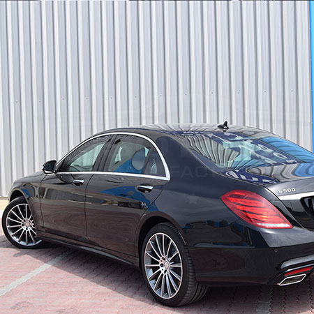 Armored Mercedes-Benz S600