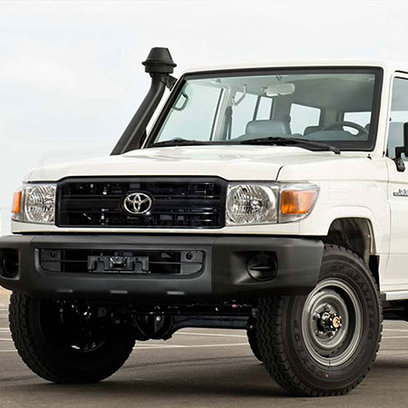 Armored Toyota Land Cruiser 76