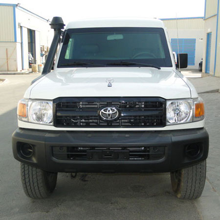 Armored Toyota Land Cruiser 78