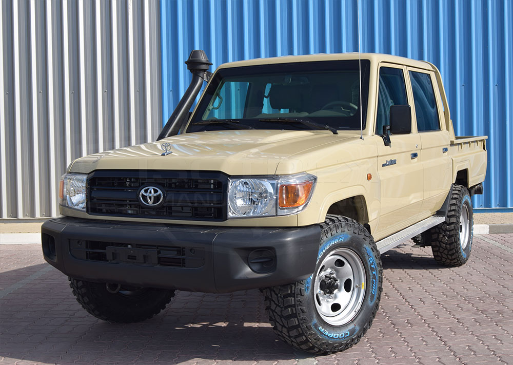 Toyota Tundra Diesel >> Armored Toyota Land Cruiser 79 | Isotrex Manufacturing
