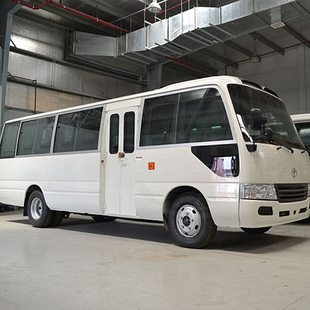 Armored Toyota Coaster